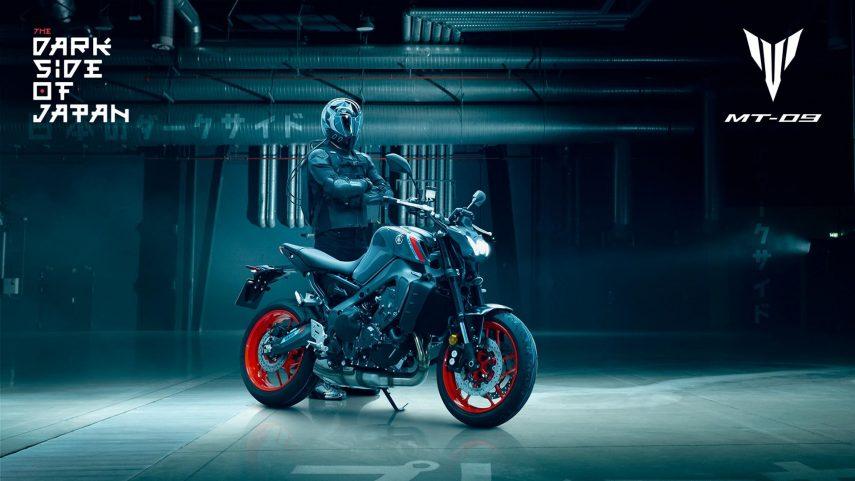 Yamaha MT-09 2021: más ligera, potente y radical de aspecto