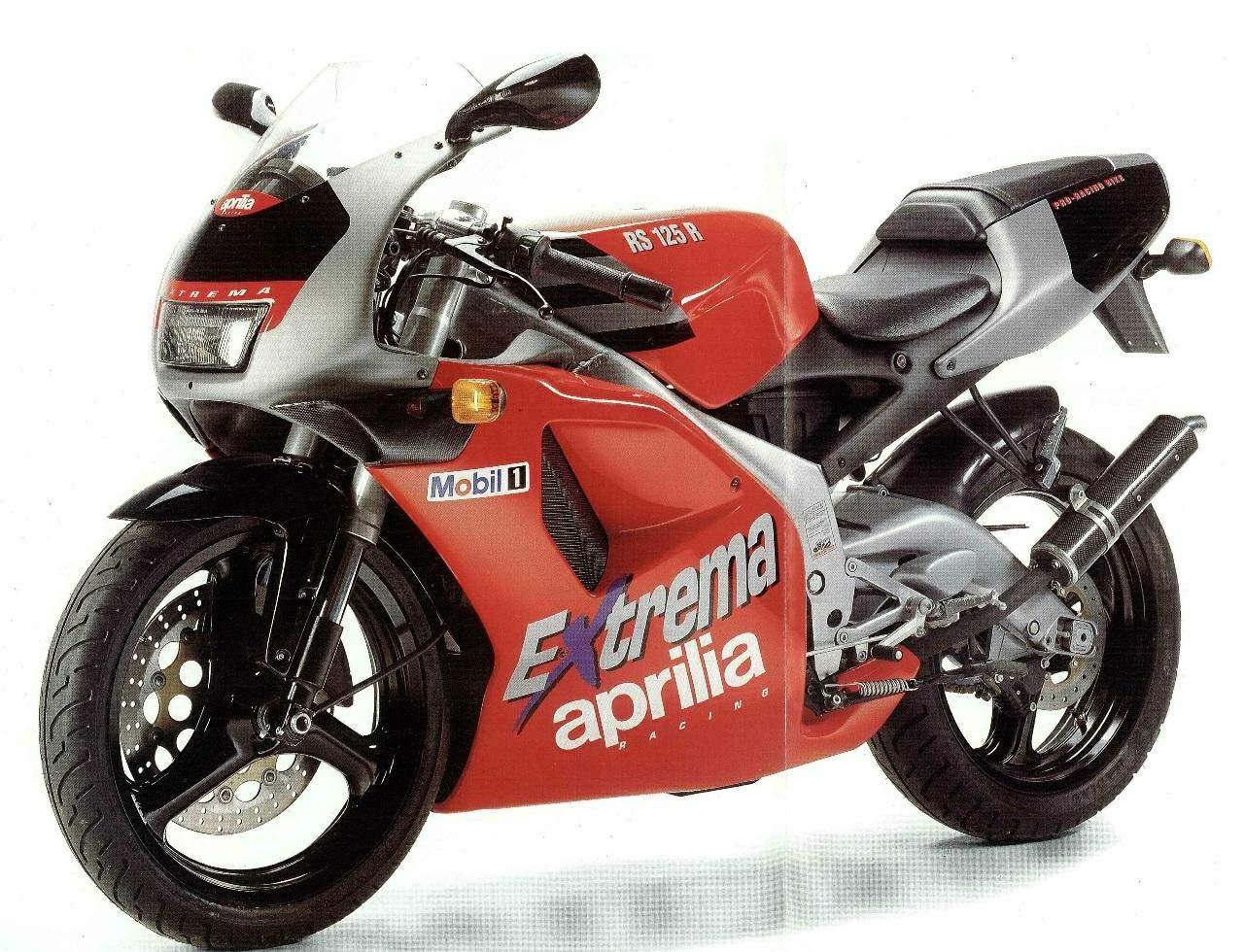 Moto del día: Aprilia RS 125 Extrema