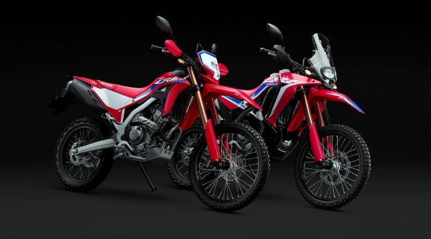 Honda muestra los primeros datos de las CRF 250 L y CRF 250 Rally 2021