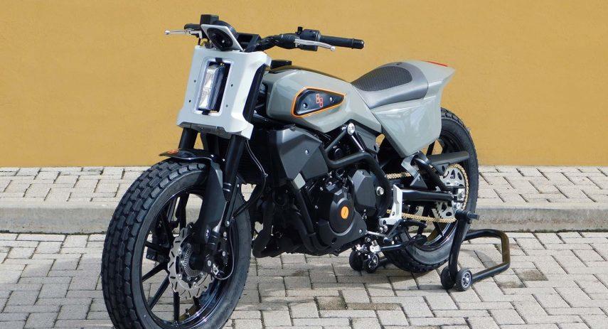 Harley Davidson XR 338 Street Tracker 01