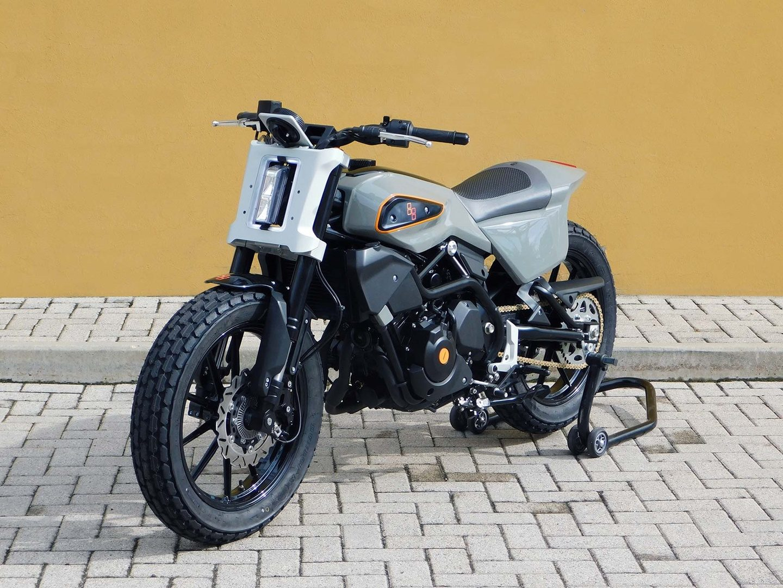 Harley-Davidson XR 338 Street Tracker por Engines Engineering