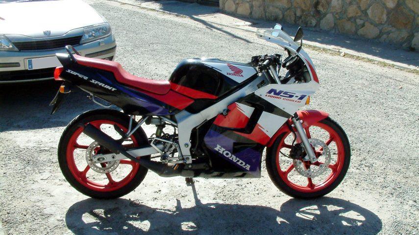 Moto del día: Honda NS-1 75