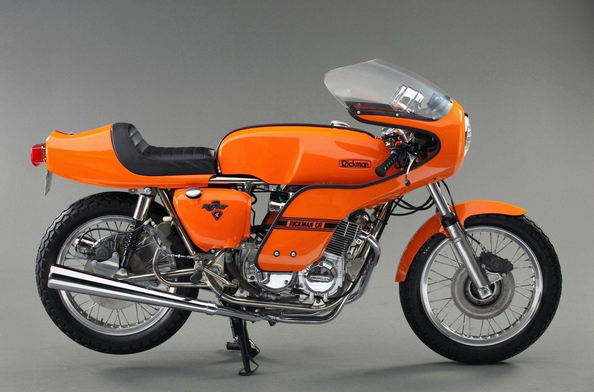 Moto del día: Honda Rickman CR 750 Café Racer