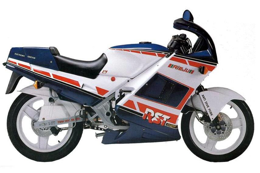 Moto del día: Rieju RST 80