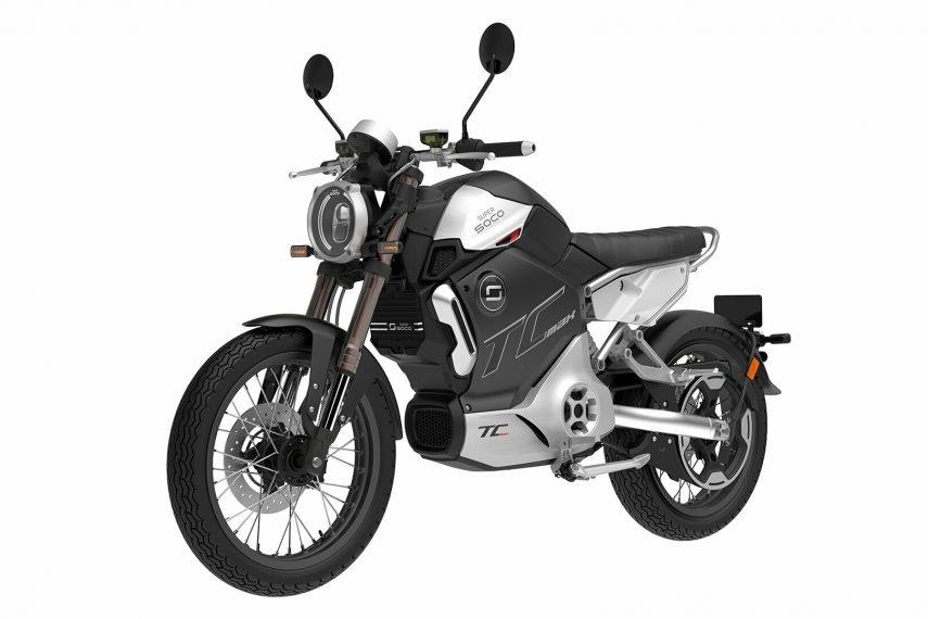 Moto del día: Super Soco TC-MAX