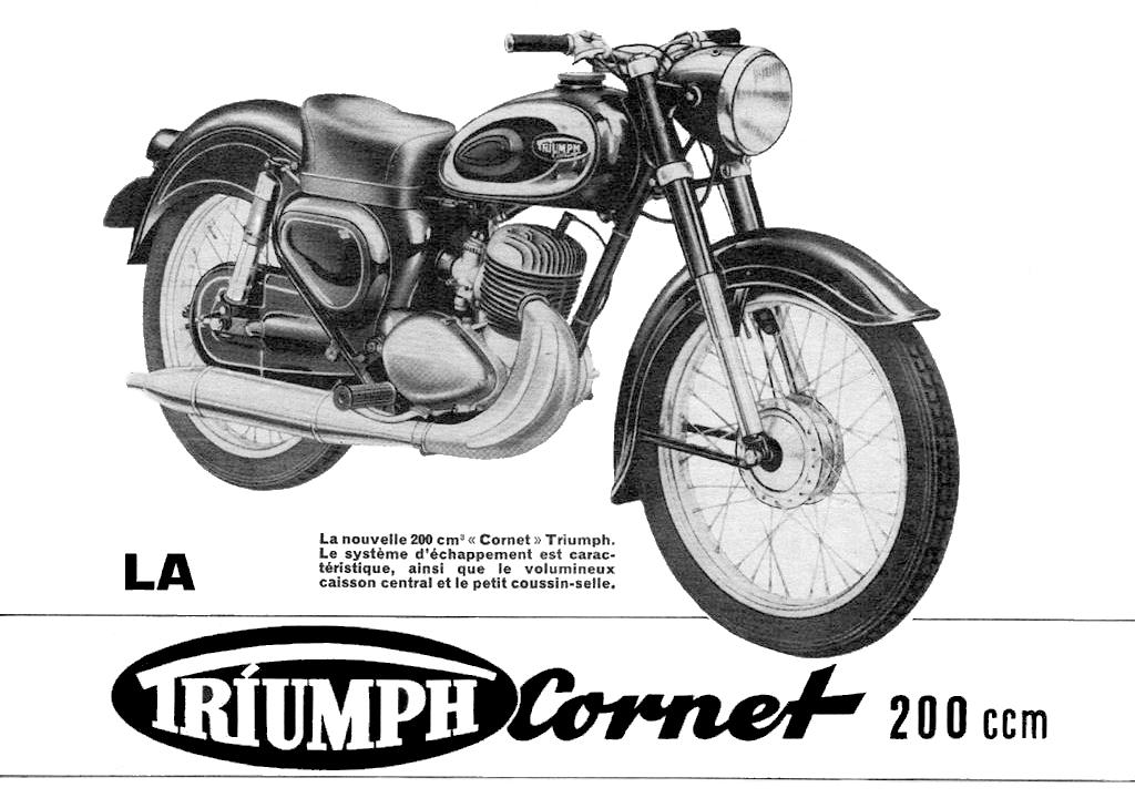 Moto del día: Triumph TWN Cornet