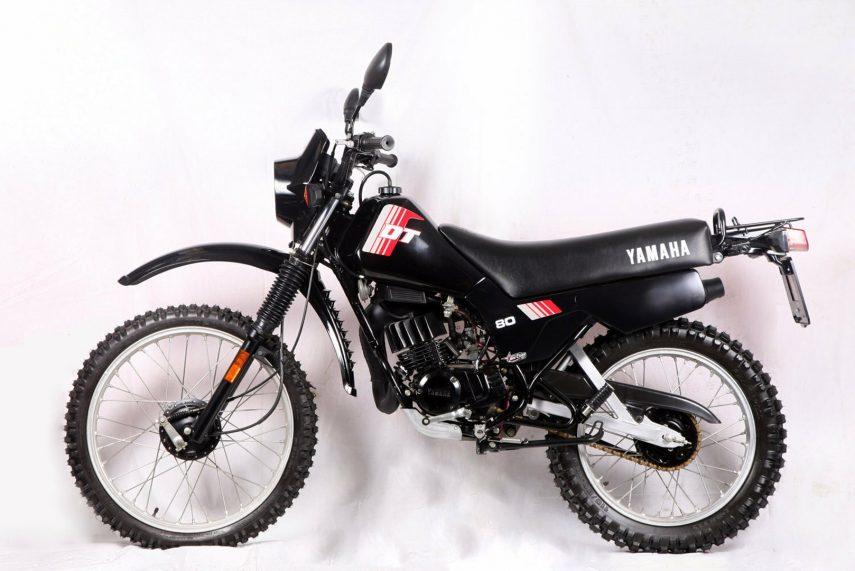 Moto del día: Yamaha DT 80