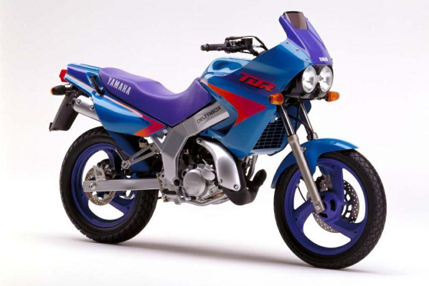 Moto del día: Yamaha TDR 125 Deltabox (4FU/5AE)