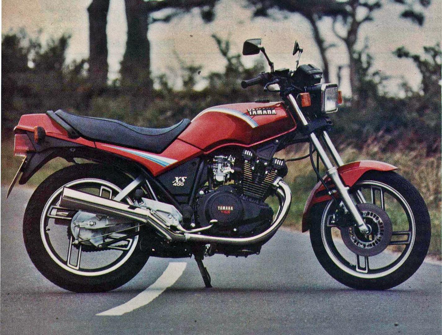Moto del día: Yamaha XS 400
