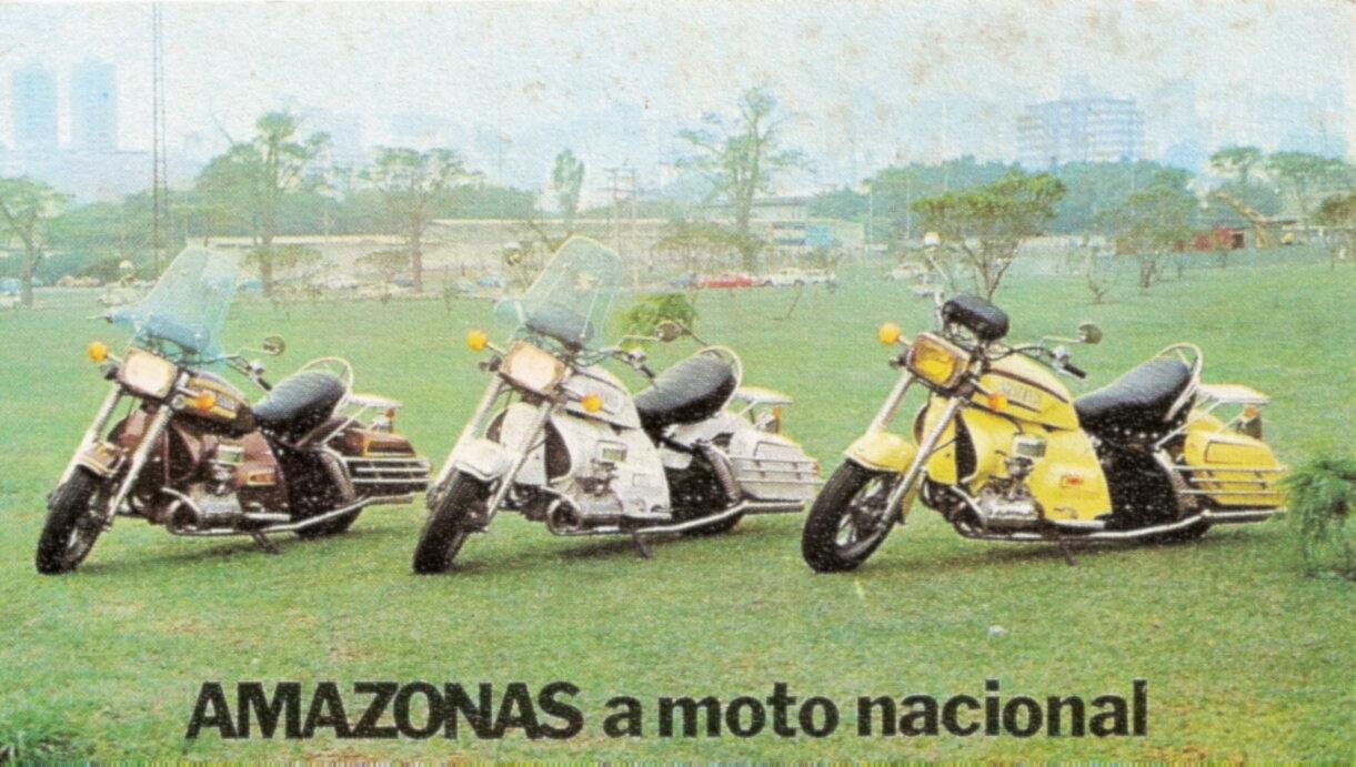 Moto del día: AME Amazonas 1600