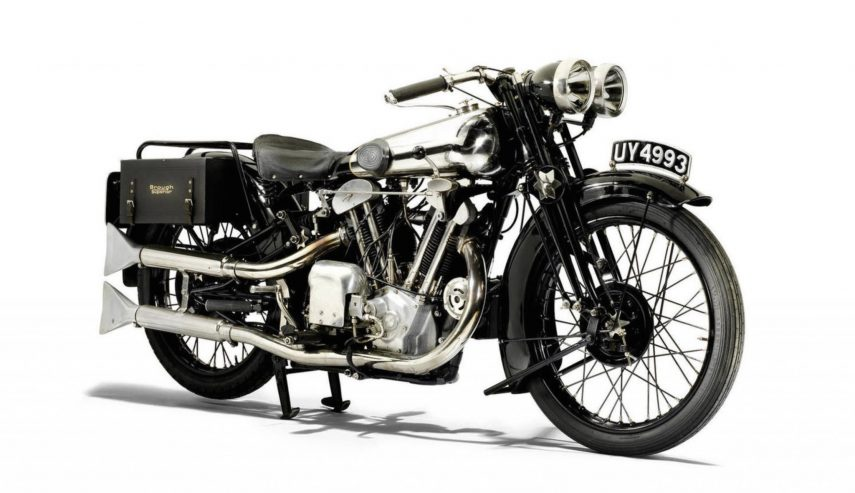 Moto del día: Brough Superior SS 100