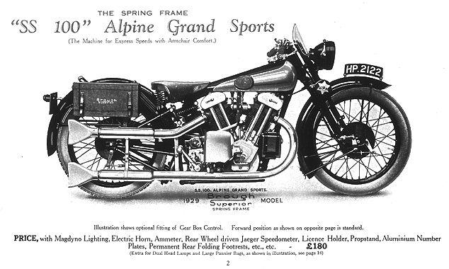 Brough Superior SS100 18