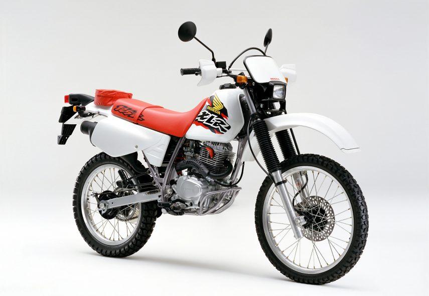 Moto del día: Honda XLR 125