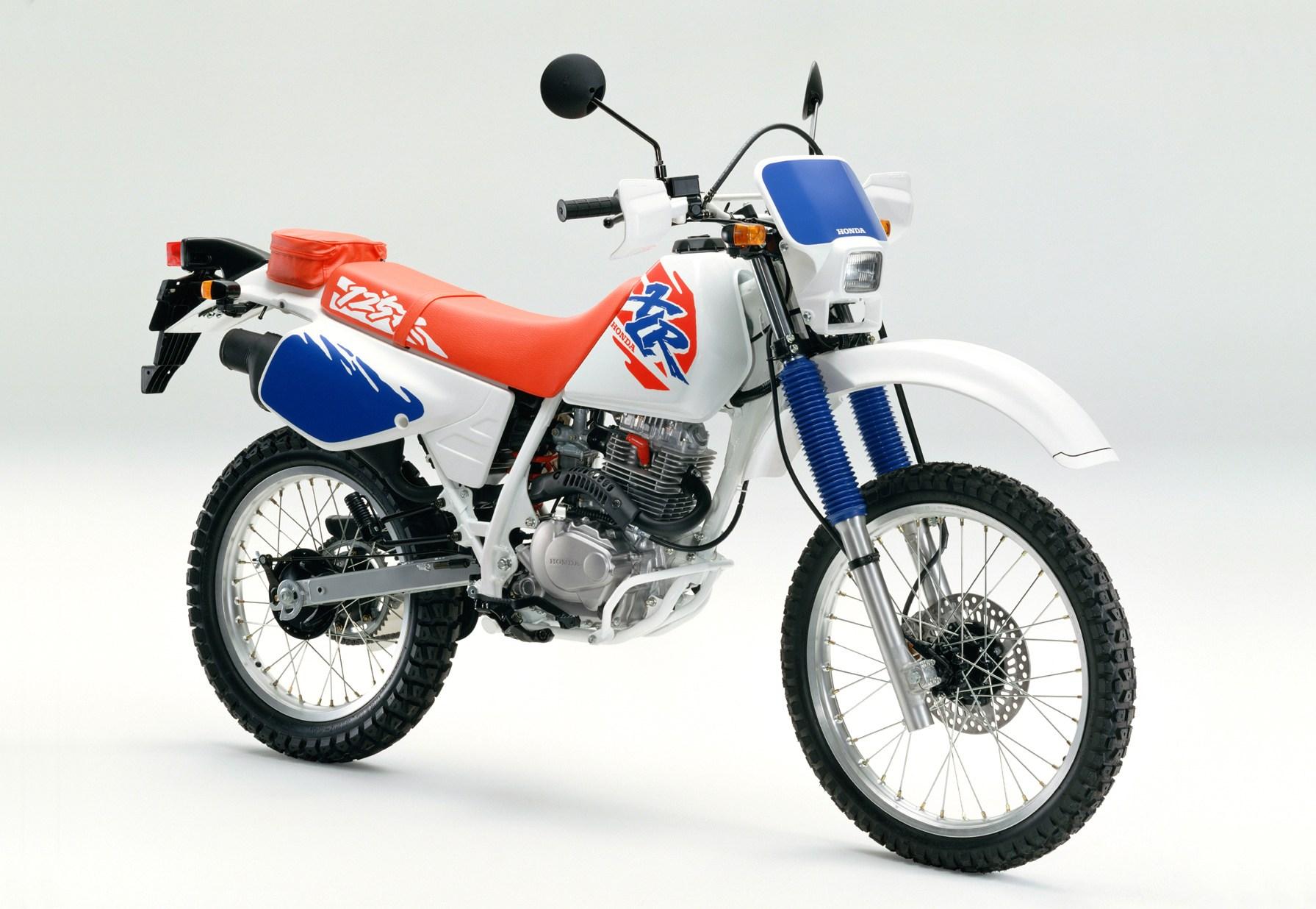 Honda XLR 125 3