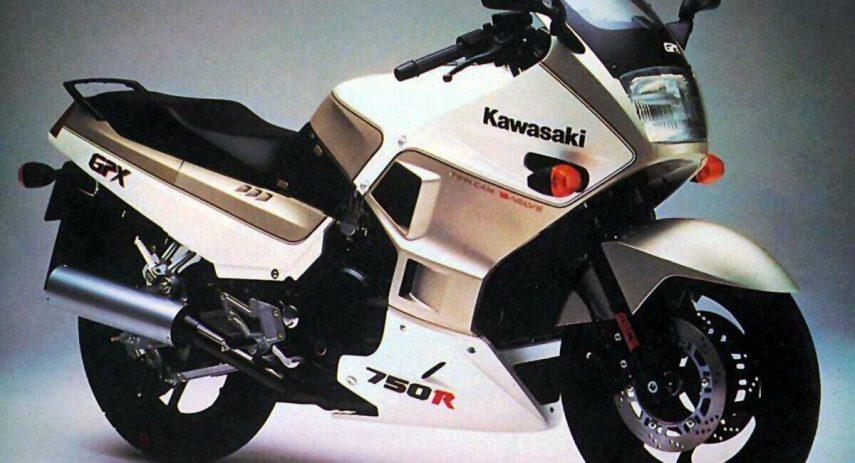 Kawasaki GPX 750 R 1