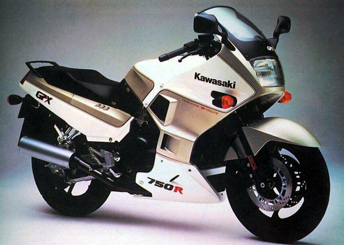 Moto del día: Kawasaki GPX 750 R