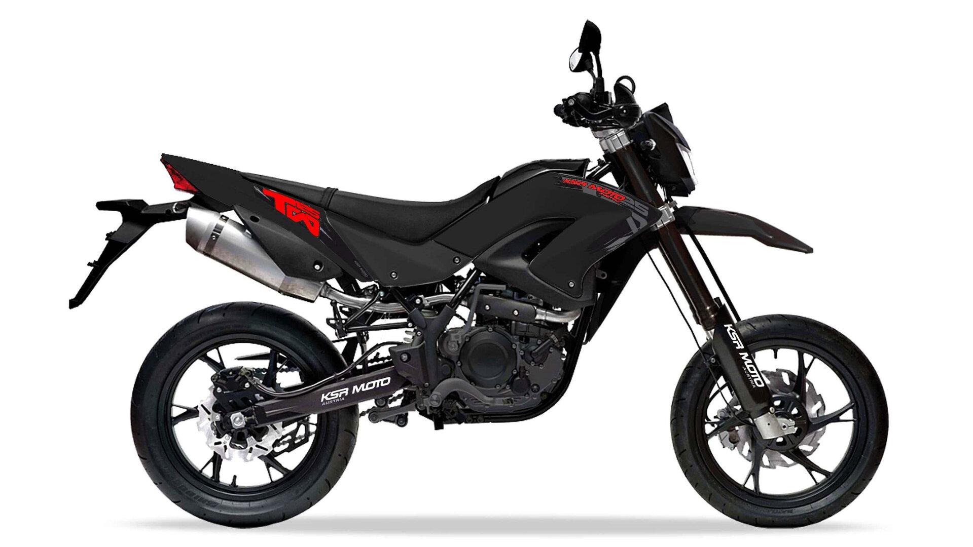 Moto del día: KSR MOTO TW 125 X/SM