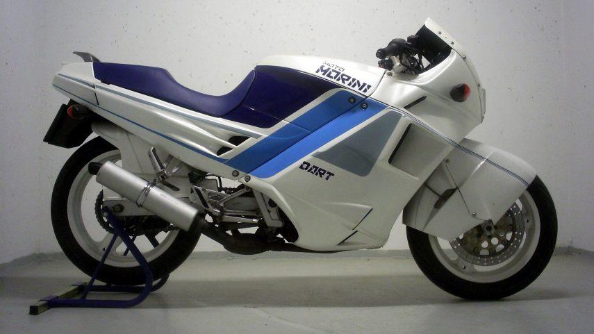 Moto del día: Moto Morini Dart 350