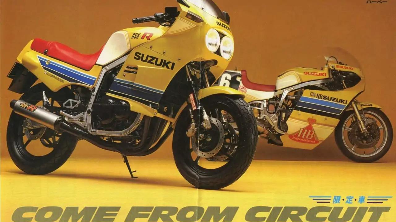 Moto del día: Suzuki GSX-R 400 (GK71B)