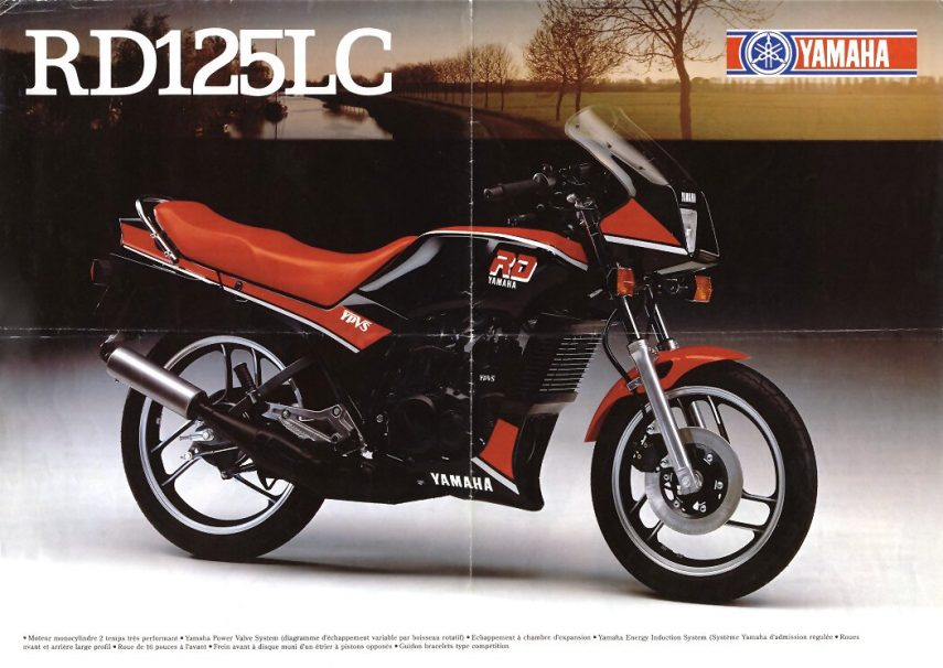 Moto del día: Yamaha RD 125 LC YPVS
