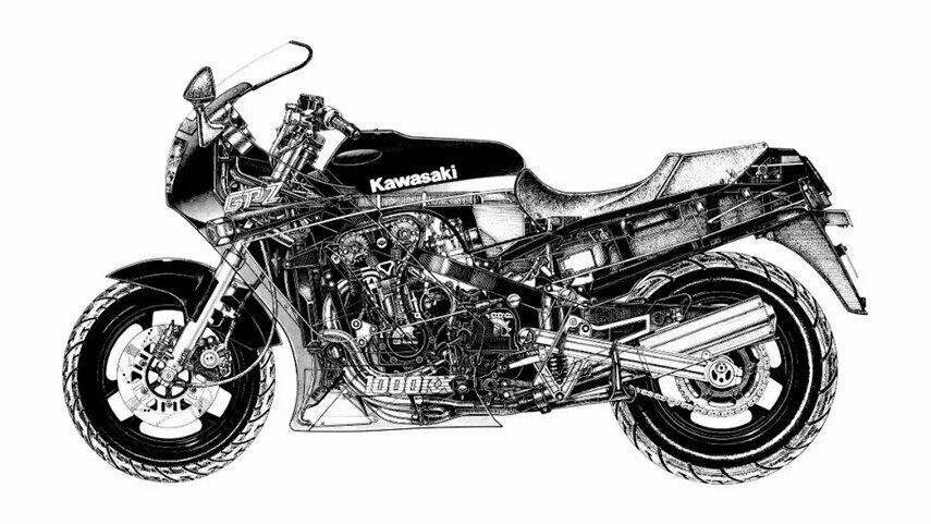 Kawasaki GPZ 1000 RX 6