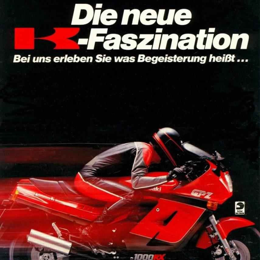 Kawasaki GPZ 1000 RX 8