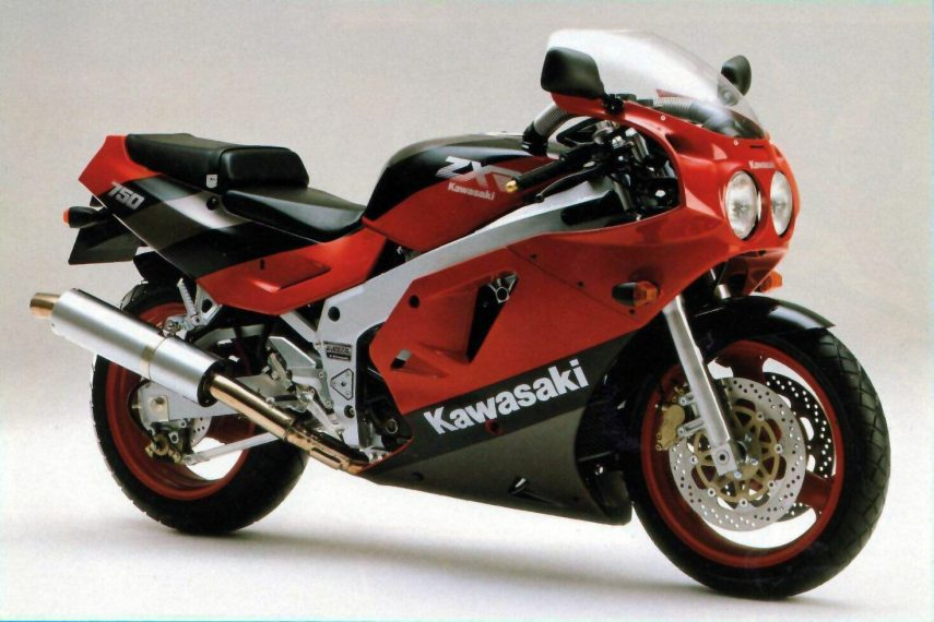 Moto del día: Kawasaki ZXR 750 Ninja/Stinger (H1/H2)