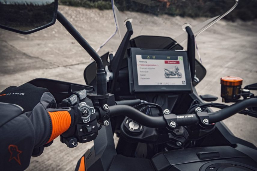 KTM 1290 SUPER ADVENTURE S Static