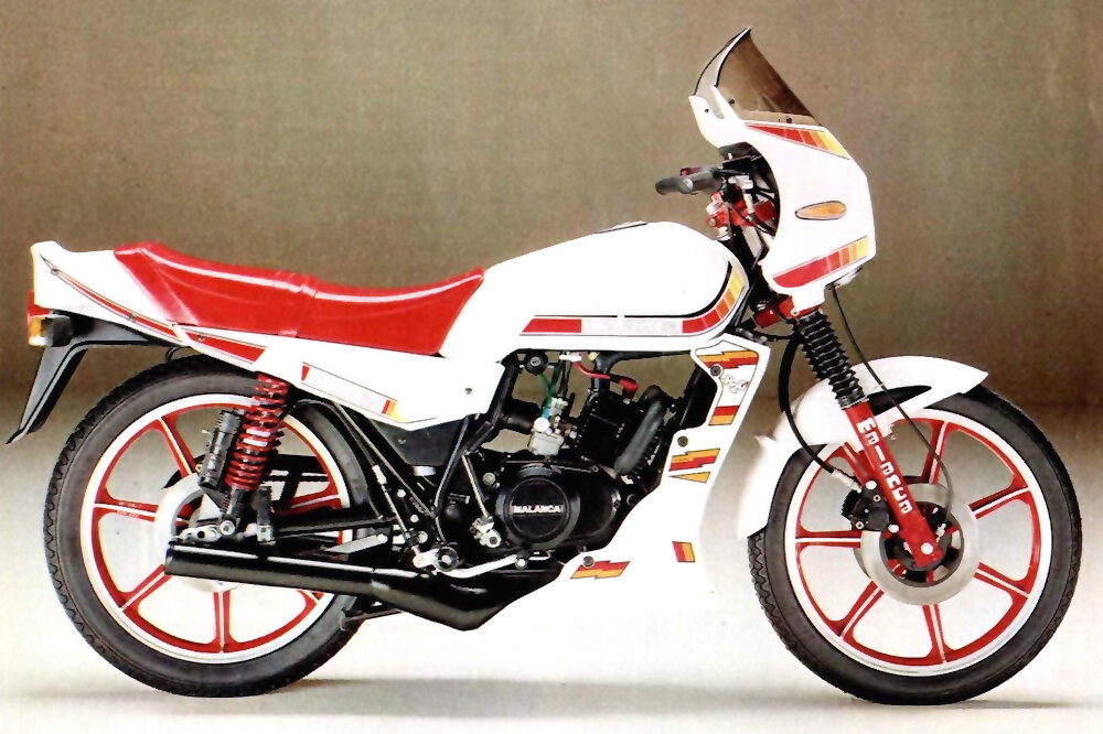 Moto del día: Malanca OB One 6M/Racing 125