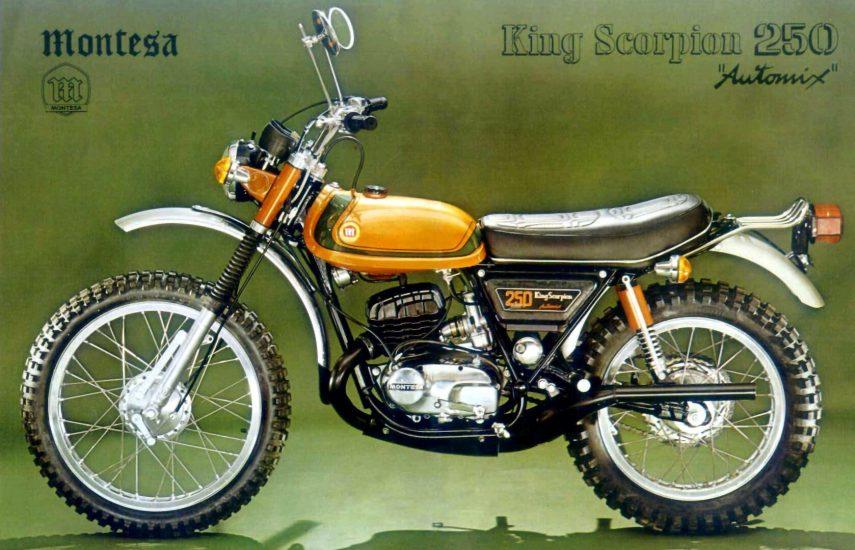 Moto del día: Montesa King Scorpion 250 Automix (44M)