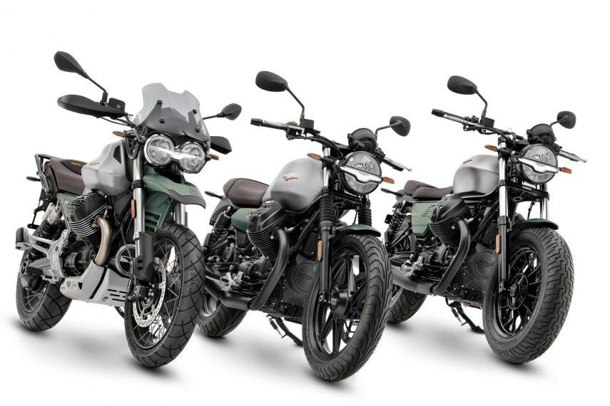 Moto Guzzi celebra sus 100 años con ediciones especiales Centennial