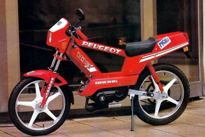 Moto del día: Peugeot 103 RCX
