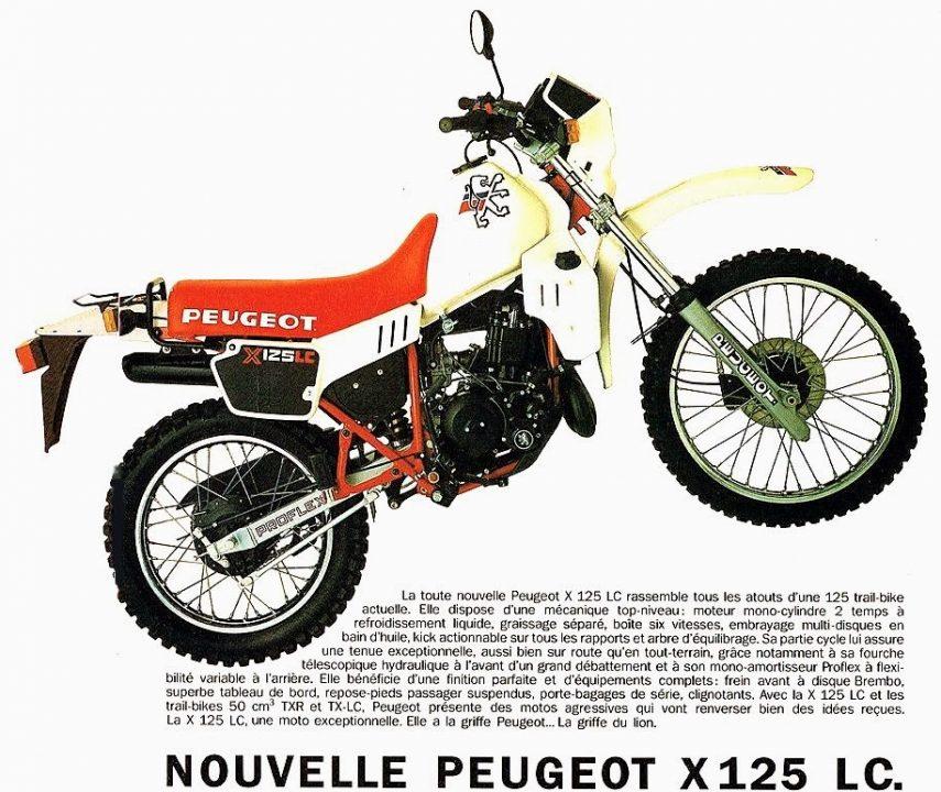 Moto del día: Peugeot X 125 LC