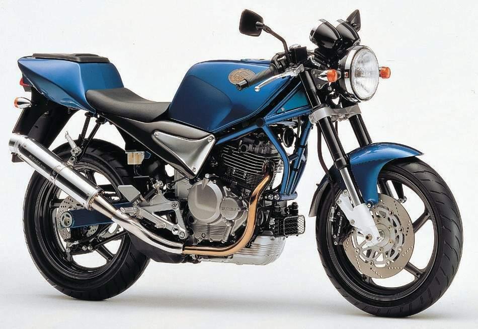 Moto del dia: Suzuki Goose 350