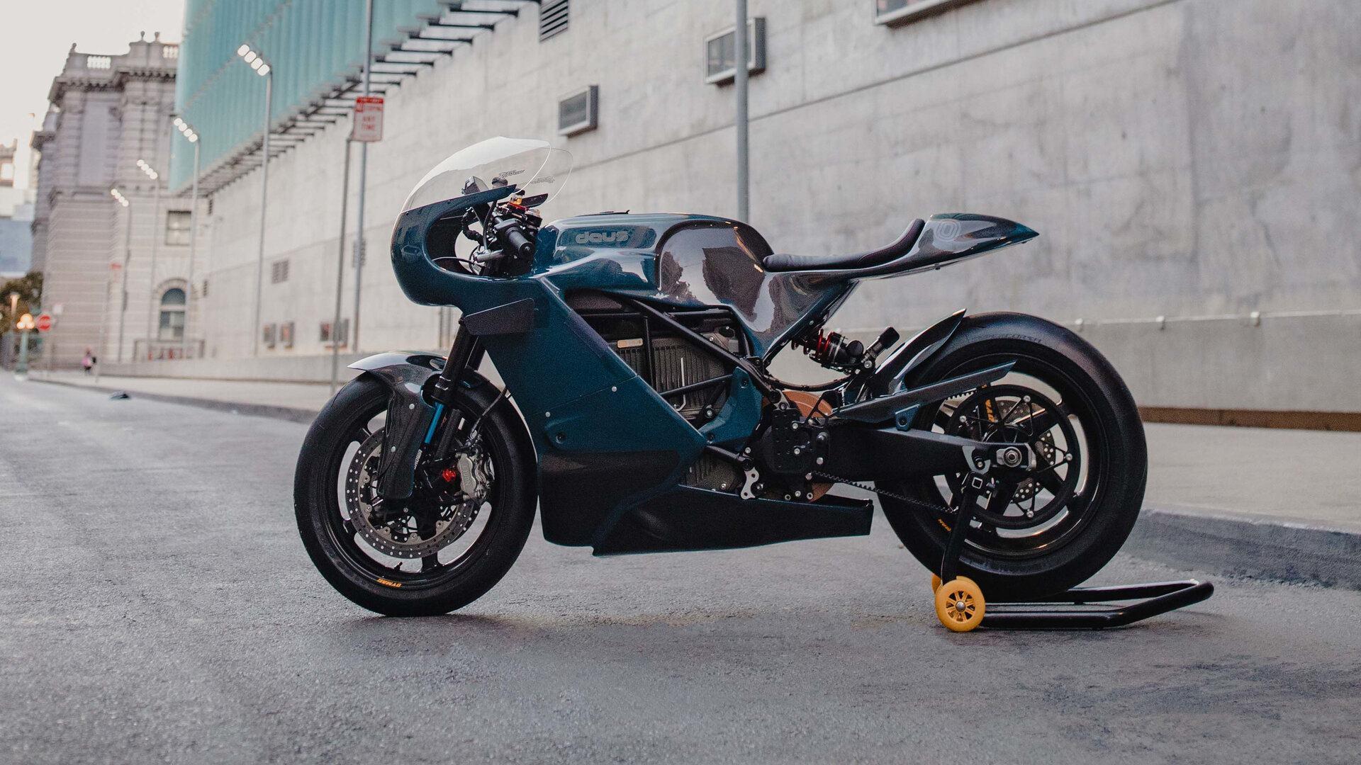 Moto del día: Zero Motorcycles x Deus Ex Machina