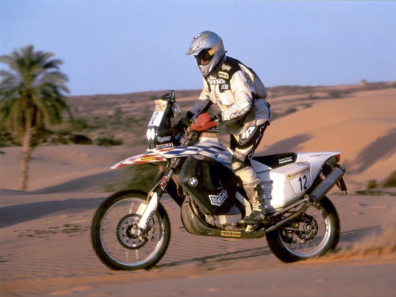 BMW F 650 RR de Richard Sainct 1999