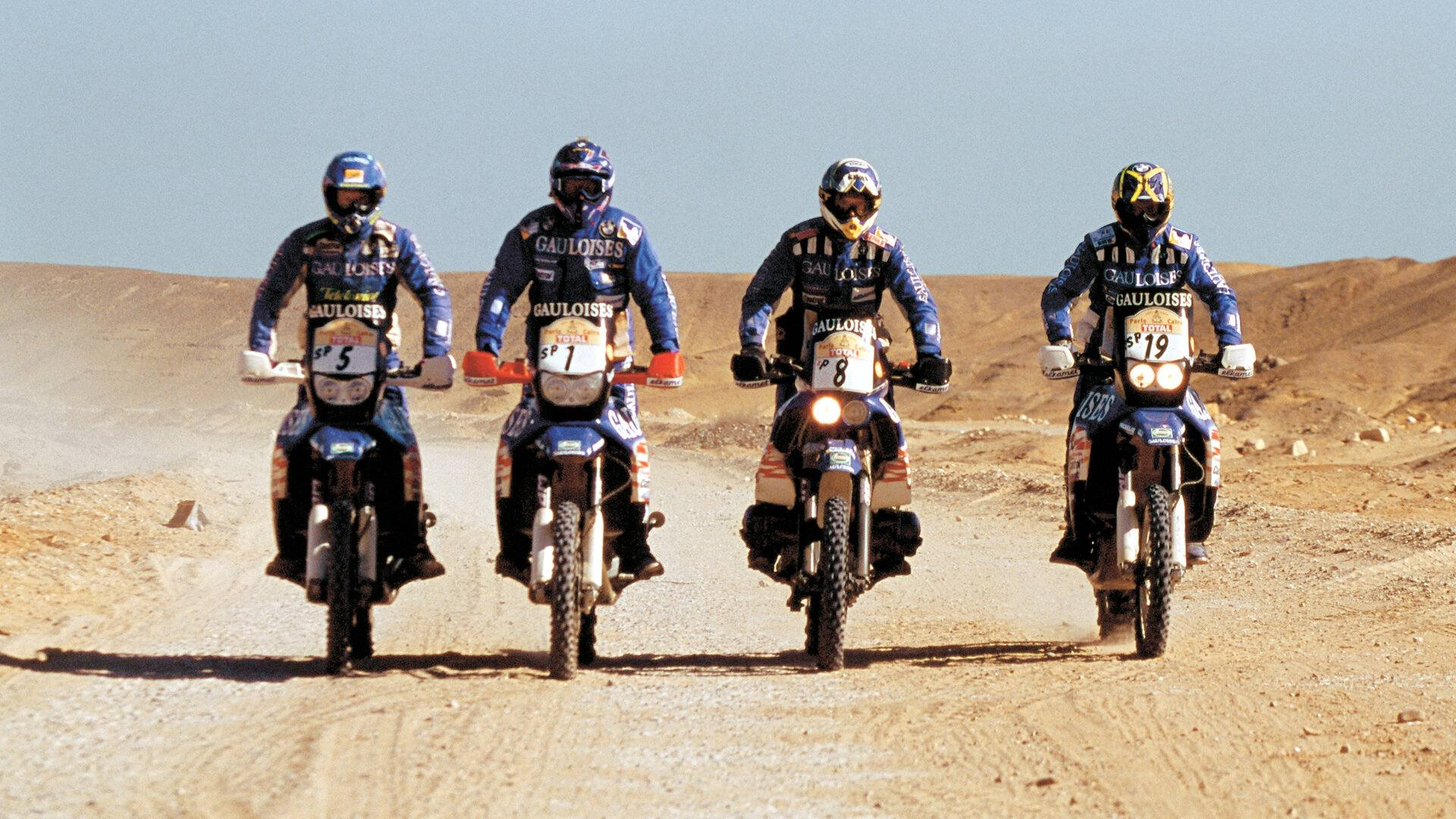Equipo BMW Motorrad Team Gauloises 2000