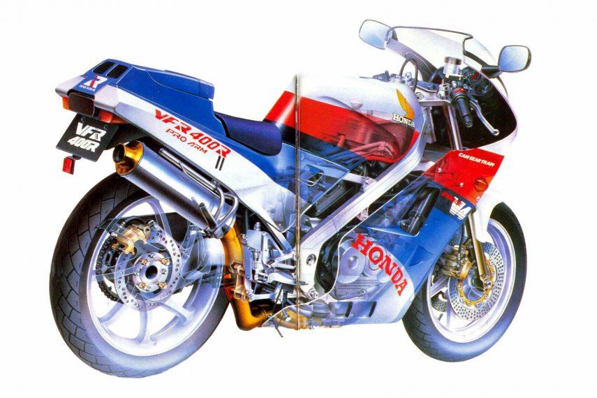 Honda VFR 400 R 1987 NC24 3