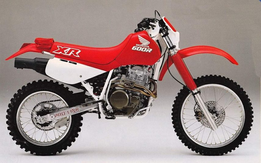 Moto del día: Honda XR 600 R