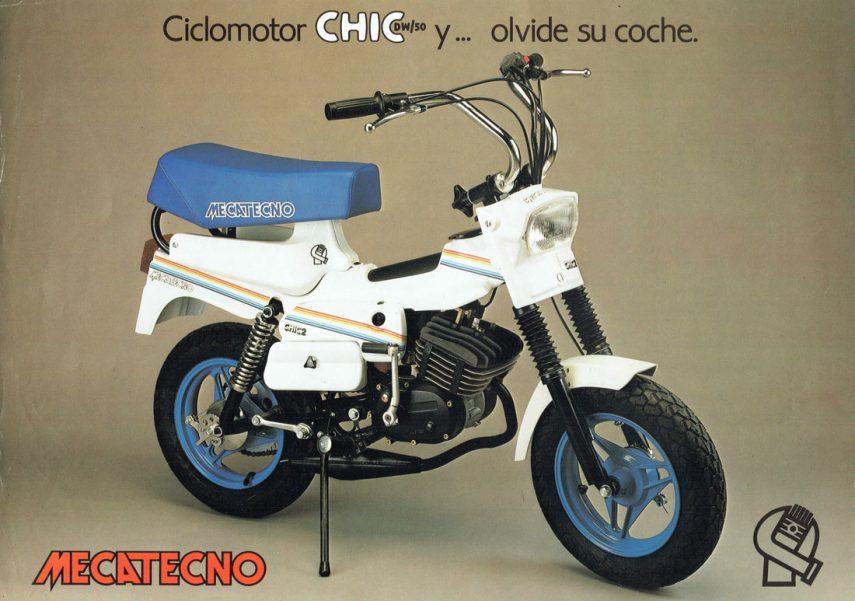 Moto del día: Mecatecno Chic DW/50