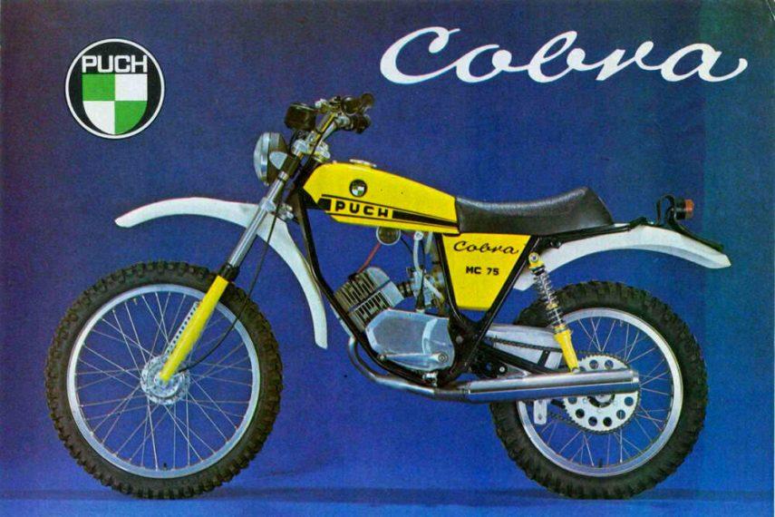 Moto del día: Puch Cobra 75