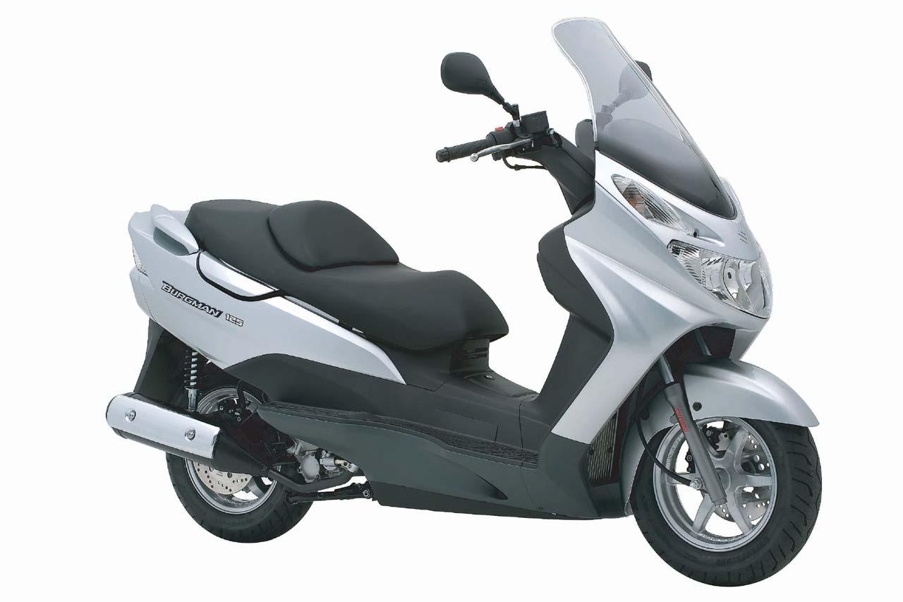 Moto del día: Suzuki Burgman 125 (2002-2013)