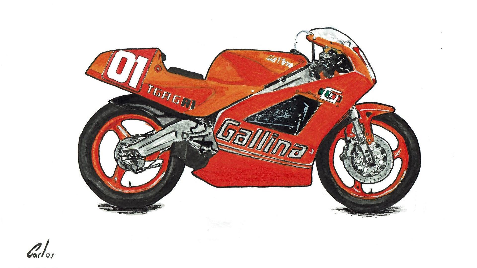 Moto del día: Suzuki Gallina TGA-6 R1/S1