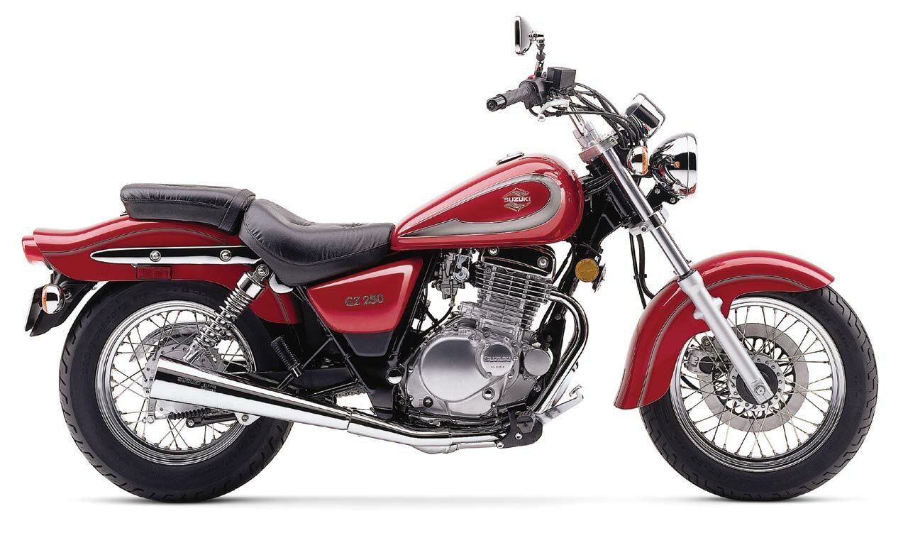 Moto del día: Suzuki GZ 250 Marauder