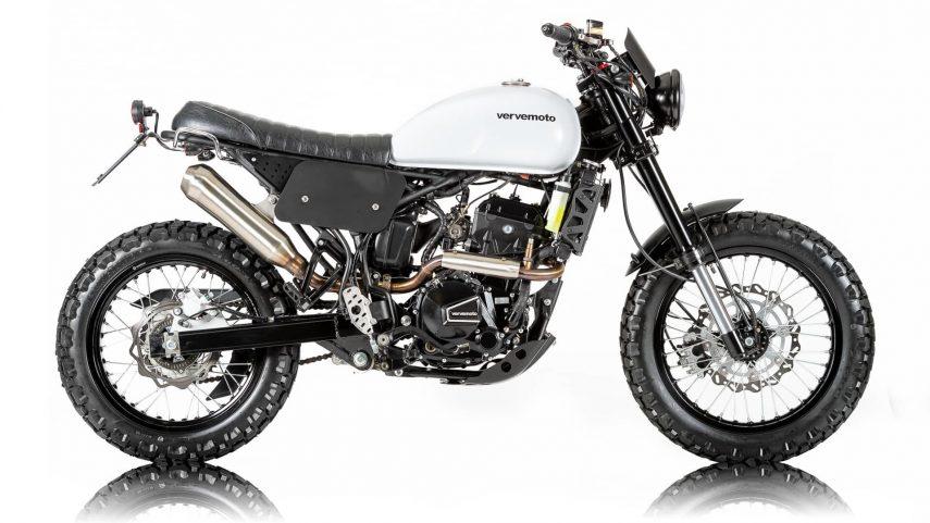 Moto del día: Verve Moto Tracker 250i