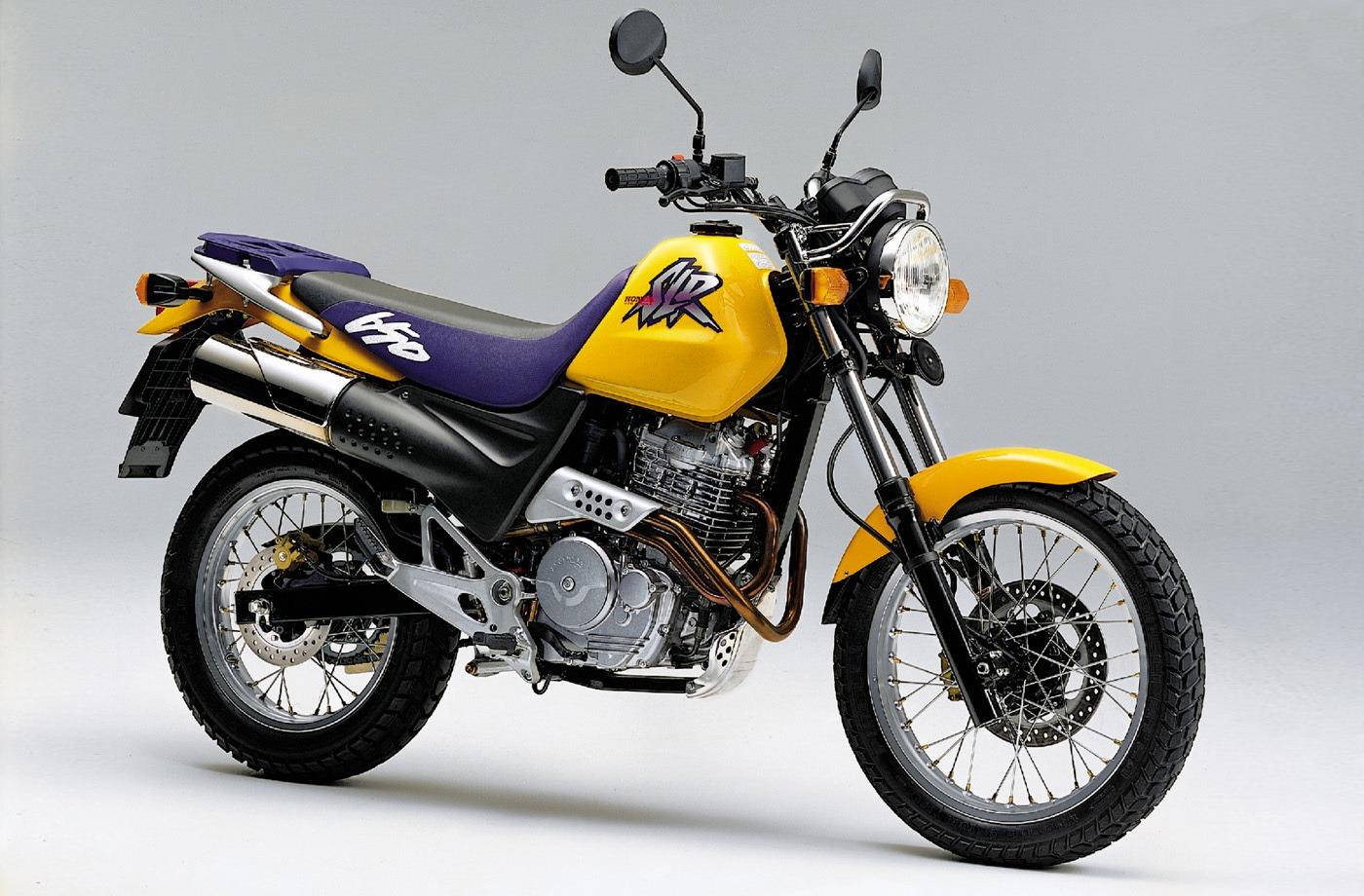 Moto del día: Honda SLR 650
