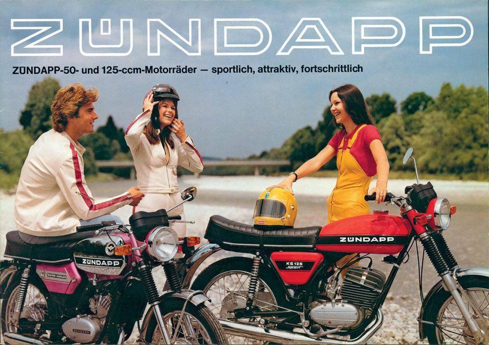 Moto del día: Zündapp KS 125 Sport