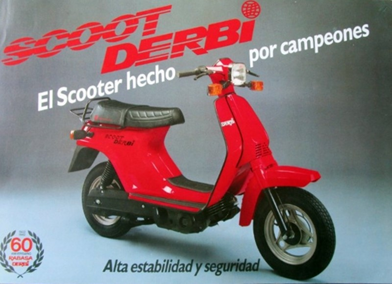 Moto del día: Derbi Scoot