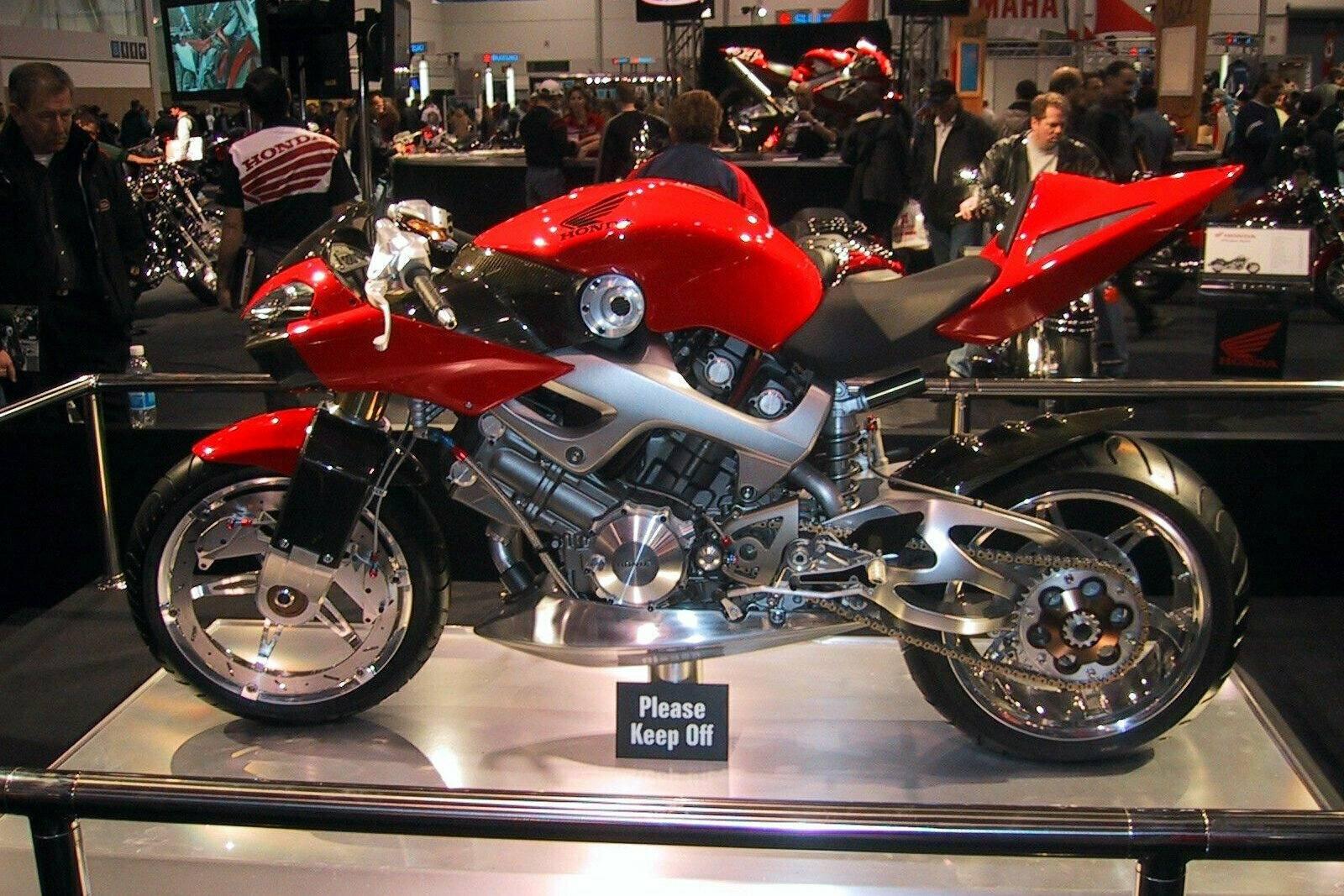 Moto del día: Honda New American Sports (NAS) Concept