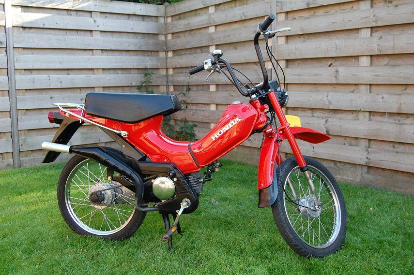 Moto del día: Honda PX 50